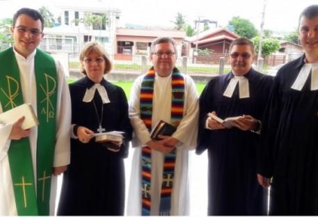 II Reunião do Conselho Sinodal com investidura de novo Pastor Sinodal