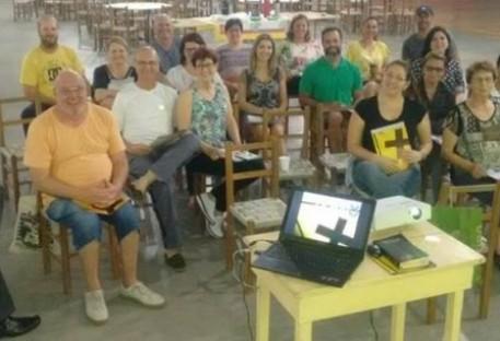 """Comunidade Evangélica de Lomba Grande realiza celebração de encerramento do curso """"Trilha 8"""""""
