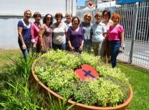 Grupo Priscila doa repaginação de jardim para a Igreja de Lajeado/RS