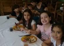 Almoço comunitário em Uberlândia/MG