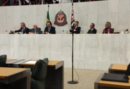 Sessão Solene na Assembleia Legislativa do Estado de São Paulo