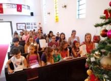 Culto de Natal das Crianças, Jovens e Famílias na Igreja Luterana de Santos/SP