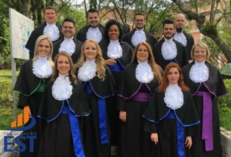 Formaturas graduação Faculdades EST