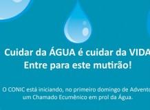CONIC: chamado ecumênico em defesa da Água