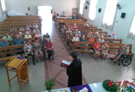 Rincão dos Ilhéus teve celebração de Advento para idosos