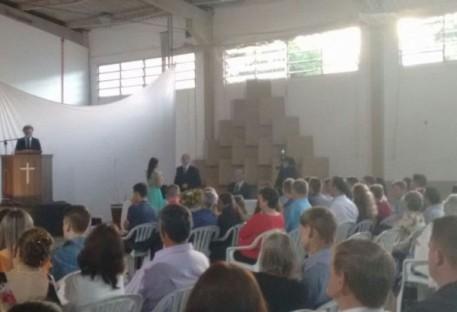 """""""Ovelhas"""" de Cosmópolis se formam na FLT em São Bento do Sul/SC"""