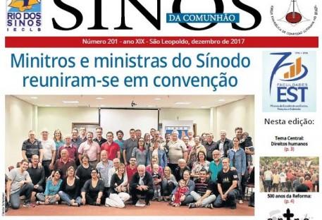 Jornal Sinos da Comunhão - Ano 19 - Nº. 201 - Dezembro 2017