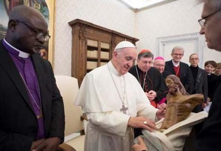 Pastor Nestor Friedrich integrou comitiva em visita ao Papa