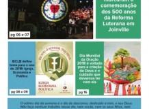 Joinville Luterano. Ano XVIII -  Número 104 - Janeiro e Fevereiro 2018