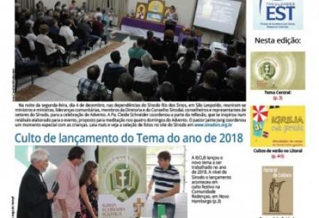 Jornal Sinos da Comunhão - Ano 20 - Nº. 202 - Janeiro e Fevereiro de 2018