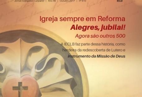 Jornal Evangélico Luterano - Ano 46 - Nº. 810 - Outubro 2017