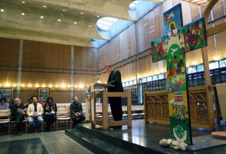Expressão visual da jornada rumo à Eucaristia compartilhada