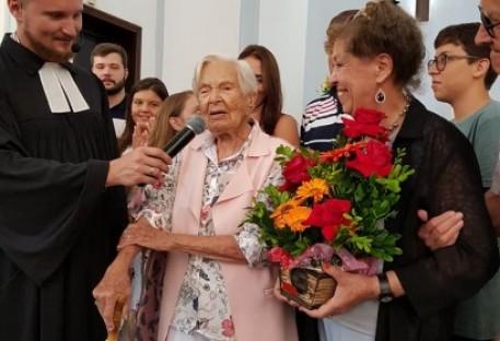 Centenário de vida de Brigitte Schlupp