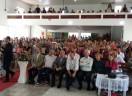 Um mar de gente no Culto de Ordenação Conjunta na Comunidade Lagoa II, em Serra Pelada/ES