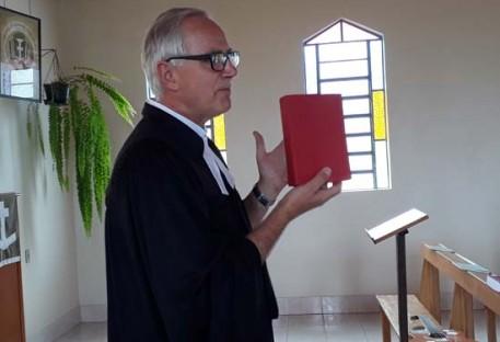 Dedicação do Livro de Canto da IECLB na Comunidade de Barão/RS