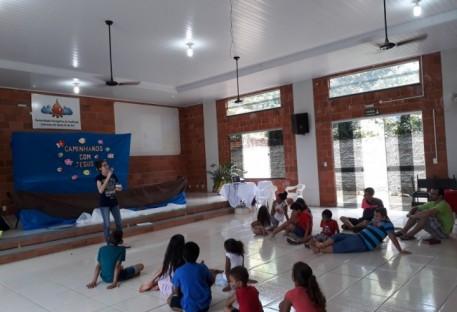 Estudantes de Teologia desenvolvem atividades conjuntas em Santa Fé do Sul/SP