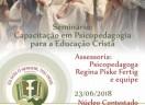 Seminário: Capacitação em Psicopedagogia para a Educação Cristã