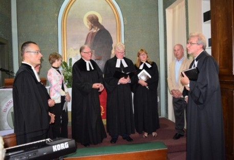 Comunidade de Cristo (Curitiba/PR) recebe novos ministros