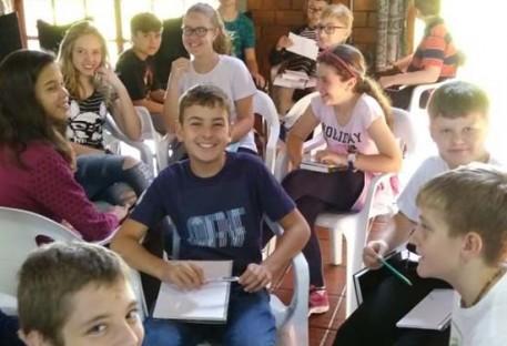 Retiro de Confirmandos da Paróquia de Nova Petrópolis/RS