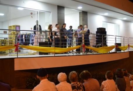 Paróquia Evangélica de Luzerna/SC inaugura nova sede