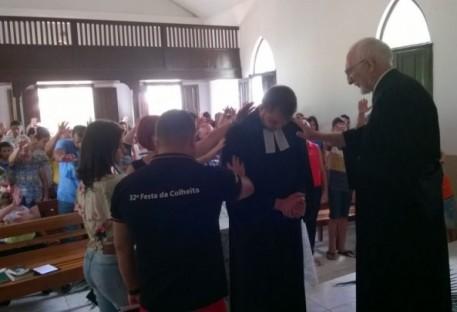 Pastor Miqueias Holz é instalado em Funil/MG