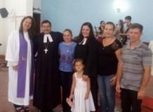 Culto De Instalação da Pastora Patrícia Hoffmann na Paróquia de Espigão do Oeste/RO