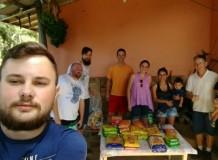 Doação diaconal realizada no acampamento de jovens é revertida para família de indígena assassinado no Vale do Itajaí