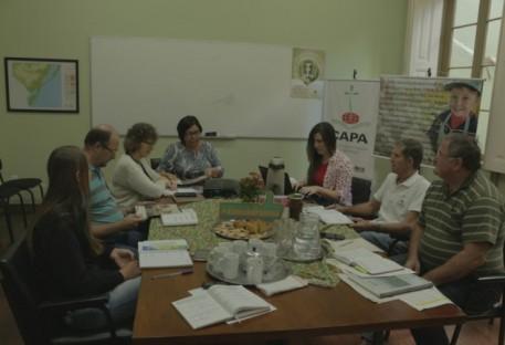 Reunião do Conselho do CAPA - Núcleo Pelotas/RS