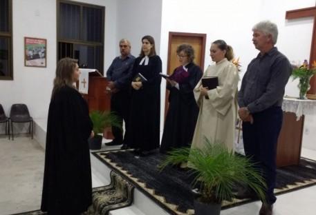 Culto de Instalação da Pa. Fabiane Schmidt Weiss