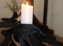 Uma sexta-feira santa silenciosa