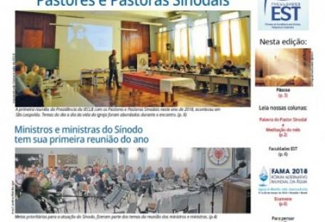 Jornal Sinos da Comunhão - Ano 20 - Nº. 204 - Abril 2018