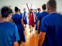 """Grupo de dança """"Unidos na Fé em Cristo"""""""