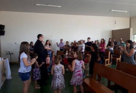 Culto de Páscoa é celebrado na Comunidade de Formosa/GO
