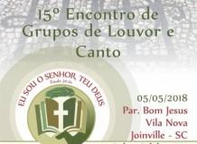 15º ENCONTRO DE GRUPOS DE LOUVOR E CANTO