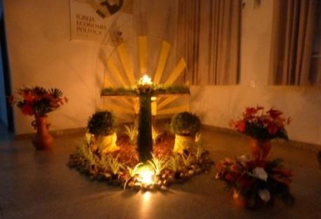 Paróquia da Barra do Rio Cerro celebra Culto de Páscoa