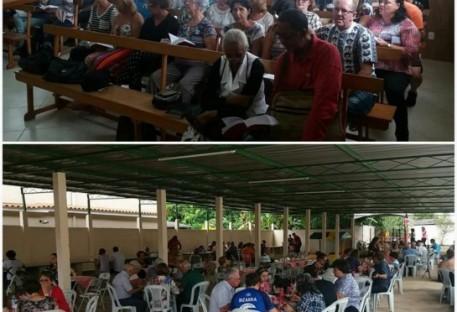 Comunidade em Mar de Espanha celebra 51 anos