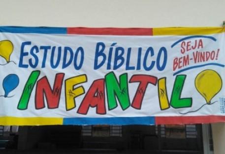 Estudo Bíblico com Crianças em Teófilo Otoni/MG
