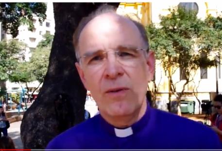Bispo Ralf Meister da Igreja Evangélica  Luterana de Hannover/Alemanha fala sobre desabamento em São Paulo/SP