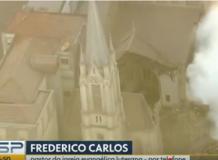 Entrevista do Pastor Frederico Ludwig sobre desmoronamento no centro de São Paulo