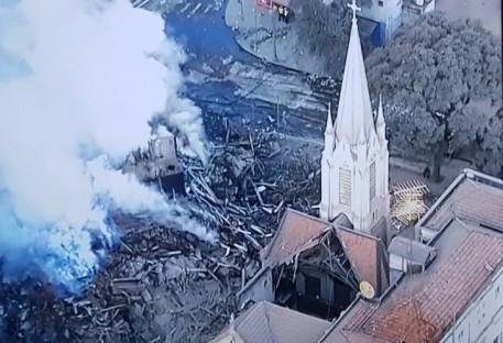 Desabamento de prédio e destruição de templo - Manifestação da Presidência da IECLB