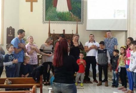 Missão criança na Paróquia Unidos na Fé em Vale Real