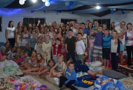 Noite do Pijama do Culto Infantil em Califórnia