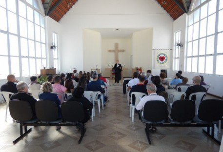 Culto e almoço festivo de Pentecostes em São José dos Campos/SP