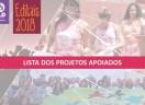 Lista do  projetos apoiados pela Fundação Luterana de Diaconia - 2018/1