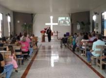 Culto de Ação de Graças na Comunidade Bom Pastor - Buritis/RO