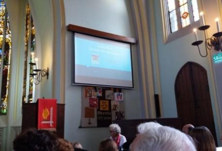 Culto de Pentecostes na Comunidade Ascensão celebra diversos acontecimentos marcantes