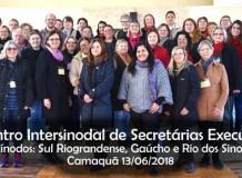 Três Sínodos promovem encontro de Secretárias Executivas