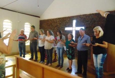 Culto especial para apresentação e bênção do novo Conselho Paroquial em Marianópolis/TO