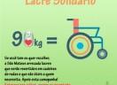 Lacres de latinhas por cadeira de rodas