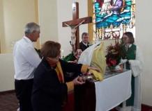 Pastora Sinodal prega no Culto de Ação de Graças em Rolante/RS